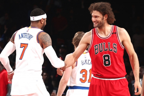 Two ex-Knicks in Derrick Rose trade finding niche in Chicago