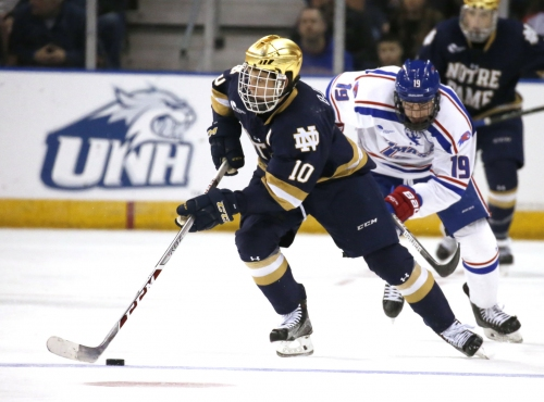 Notre Dame looking to play 'desperate hockey' in Frozen Four