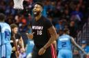 Heat hit 21 3s, secure huge win over Hornets