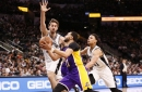 Bad start dooms Spurs against Lakers