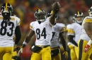 Watch Steelers WR Antonio Brown torch Chad Johnson in a one-on-one drill