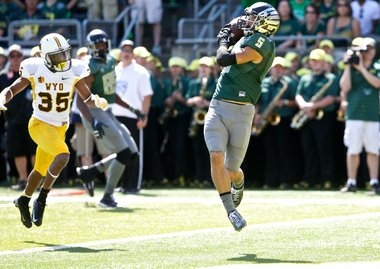 Evening kickoff set for Oregon's Sept. 16 road game at Wyoming