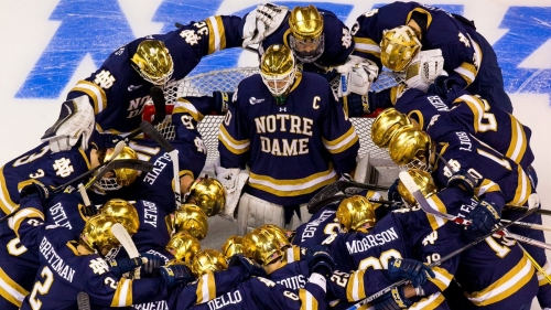 Notre Dame Hockey: How To Watch The Irish VS Denver In The Frozen Four