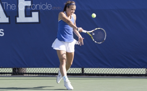 No. 15 Duke women's tennis confident heading into road tilts against Notre Dame and Boston College