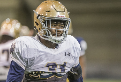 Notre Dame safety Spencer Perry announces plans to transfer