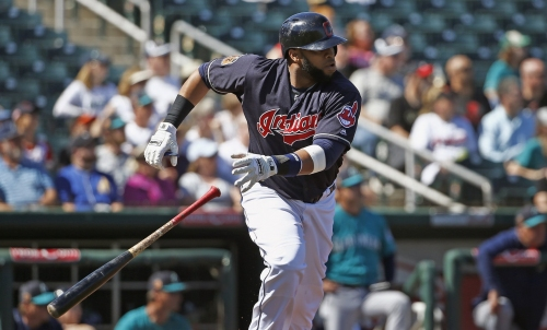 Carlos Santana, Cleveland Indians' leadoff hitter, sets new path for top of the lineup