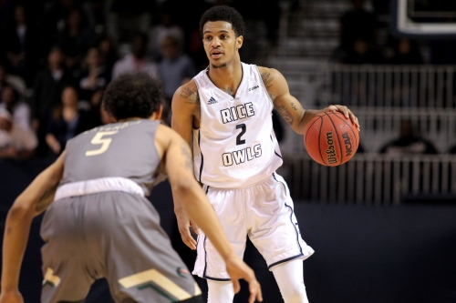 Rice transfer guard Marcus Evans down to Arizona, Miami, and VCU