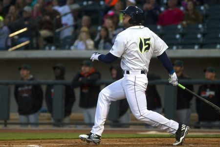 Tebow homers in first at-bat in minor league debut