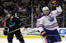 Lucic takes over in win over San Jose Sharks