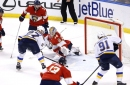 Panthers strike another sour note in 6-3 loss to Blues