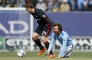 How will D.C. United replace Marcelo Sarvas against NYCFC?