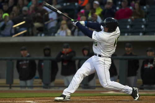 Watch: Tim Tebow hits home run in first minor league at-bat