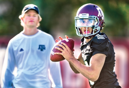 Texas A&M football team ready for today's Maroon & White Game