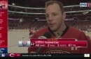 Shawn Thornton will miss camaraderie, family away from family