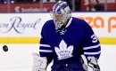 Leafs goalie Andersen exits after hit to head vs. Pens