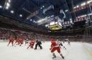Red Wings beat Devils 4-1 in last game at Joe Louis Arena (Apr 09, 2017)