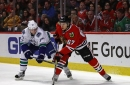 Who should be on the Blackhawks' 4th line to open the 2017 playoffs?