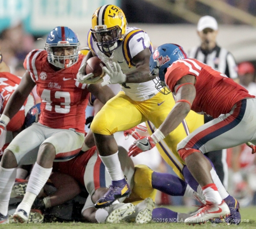 Leonard Fournette still in play as No. 1 overall pick: report