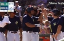 Tebow launches 2nd HR for Columbia Fireflies