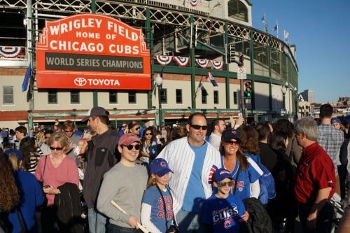 Cubs Raise The Banner, Face Dodgers