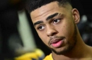D'Angelo Russell cleared to leave Lakers to be with family