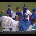 Cubs Win Home Opener On Anthony Rizzo's Walk Off Single
