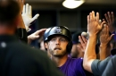 Colorado Rockies first baseman Mark Reynolds has stepped up in a big way