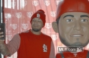 Let Yadier Molina meeting his life-sized bobblehead fuel your soul - A Hunt and Peck