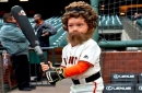 LOOK: Hunter Pence high-fives himself in Mini-Me form