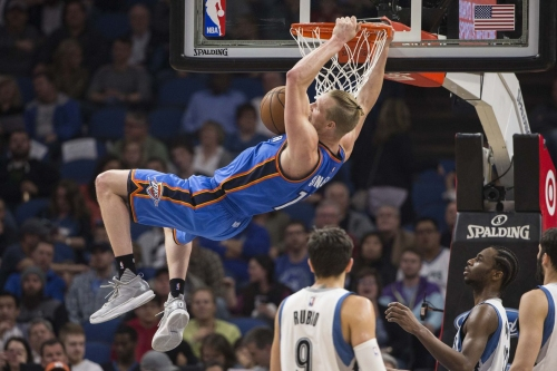 Oklahoma City Thunder defeat Minnesota Timberwolves 100-98 as Westbrook and others rest