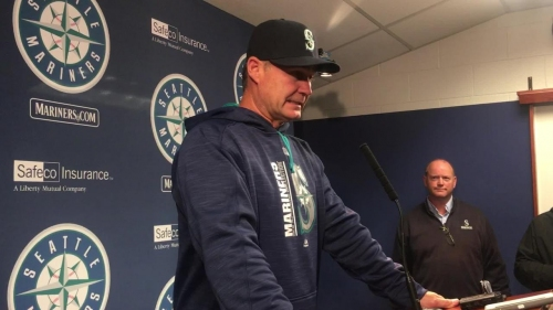 Mariners manager Scott Servais on his team's 7-5 loss to the Astros