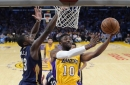 Pelicans fall to Lakers 108-96 in fifth straight loss