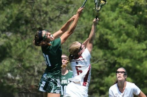 Four Eagles Score Hat Tricks in 16-9 Win Over Dartmouth Lacrosse