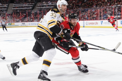Highlights: Bruins score twice in the 3rd to take Game 1
