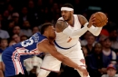 NBA Final Score: Sixers WIN by losing to the Knicks, 114-113