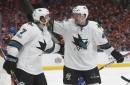 "Sharks notes: ""Beast"" Tomas Hertl has strong start to series vs. Oilers"