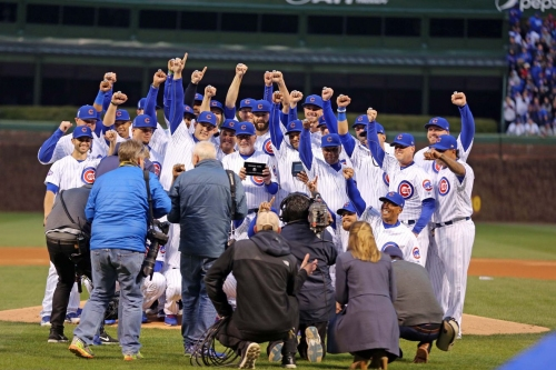 Cubs Go For Series Win Over Dodgers