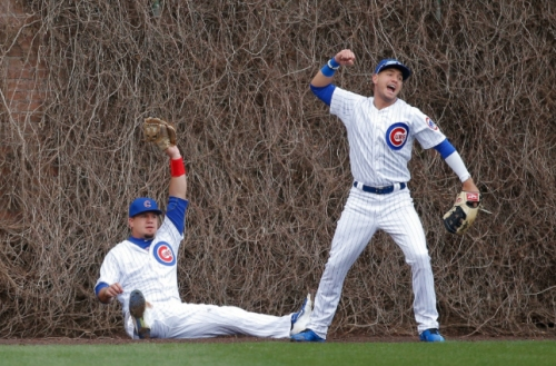 Best in field? Cubs show off D, beat Dodgers 4-0 to win series