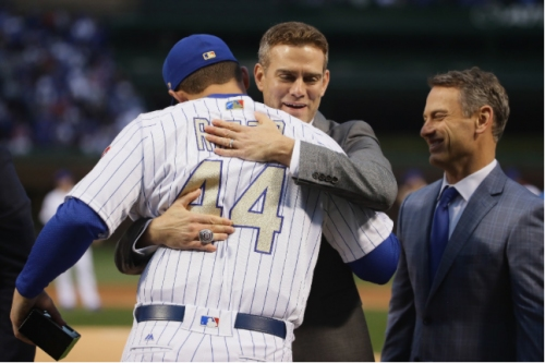 Ring tones: Cubs take 1 more victory lap before 2-0 loss to L.A.