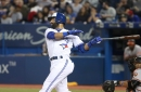 Blue Jays batters work on breaking pitches