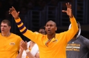 Metta World Peace confirmed his time with the Lakers is over
