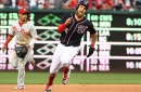 Washington Nationals' lineup for second of three with the Philadelphia Phillies...