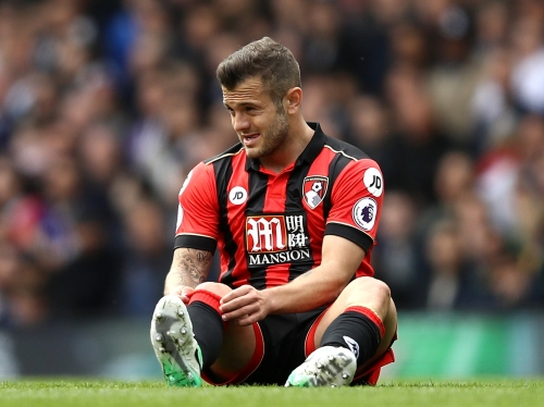 Tottenham fans serenade Jack Wilshere as on-loan Arsenal star suffers another injury