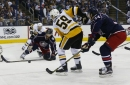 Penguins vs. Blue Jackets Game 3 Recap: JAKE N BAKE. Pens win in OT on Guentzel's hat trick goal