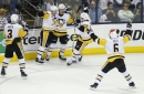 Jake Guentzel's hat trick gives Penguins 3-0 lead over Columbus Blue Jackets