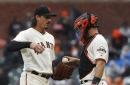 Giants get their bats wet but fail to win