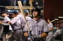 Colorado Rockies first baseman Mark Reynolds is having a late career change