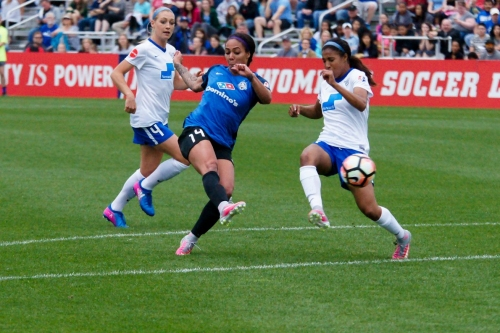 Blues Defeat Breakers in 2-0 Victory
