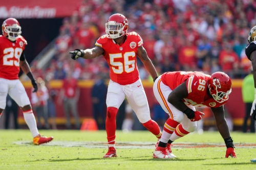 Derrick Johnson on track for Chiefs training camp