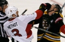 Schaller should be fined for hitting Methot's hand with his face
